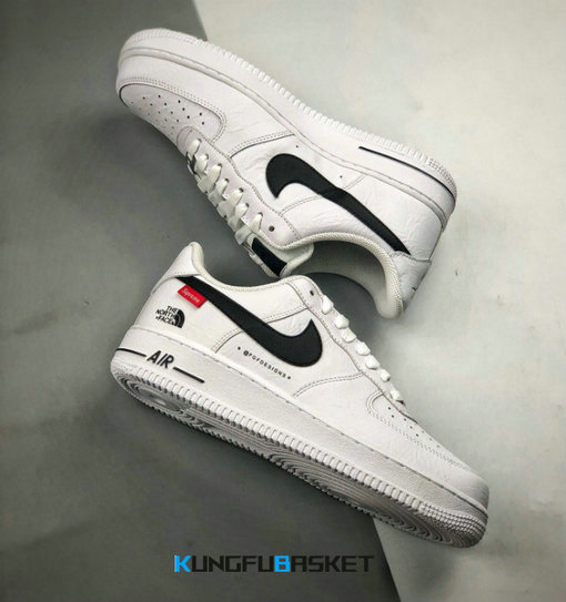 Kungfubasket Air Force 1 Low x Supreme x The North Face K122