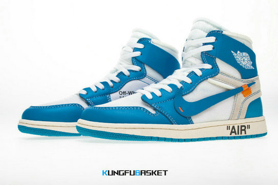 Kungfubasket Off-White x Air Jordan 1 UNC K81
