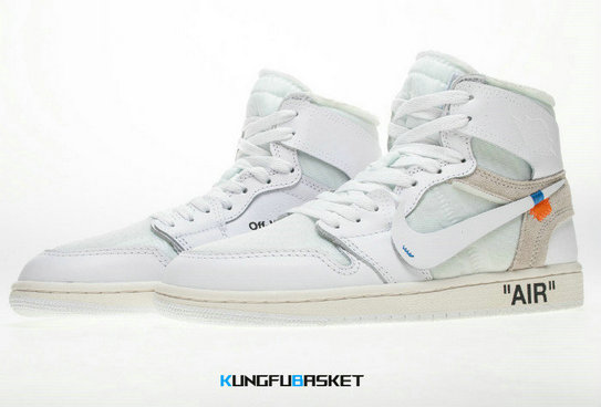 Kungfubasket Off-White x Air Jordan 1 Blanc K82