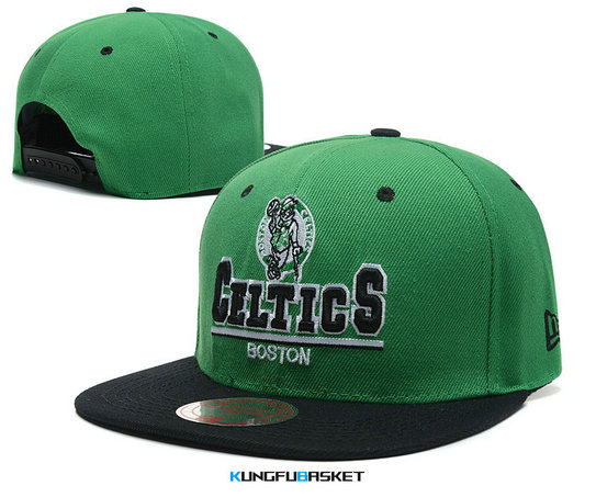 Kungfubasket 0755 - Casquette Boston Celtics