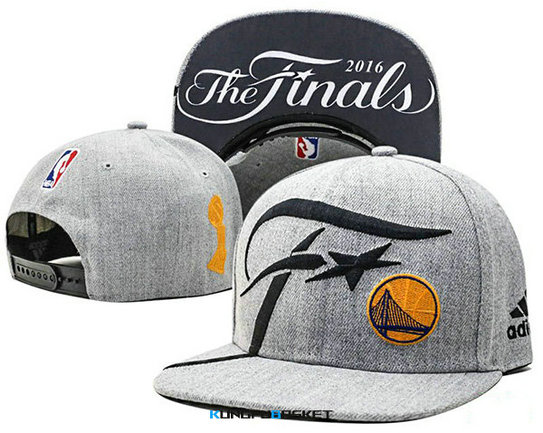 Kungfubasket 0763 - Casquette Golden State Warriors Final 2016