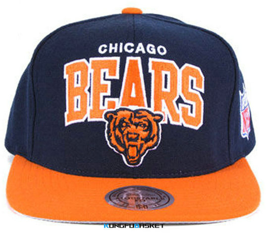 Kungfubasket 0804 - Casquette Chicago Bears