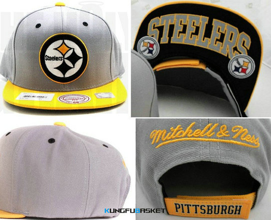 Kungfubasket 0813 - Gorra Pittsburgh Steelers [Gris]
