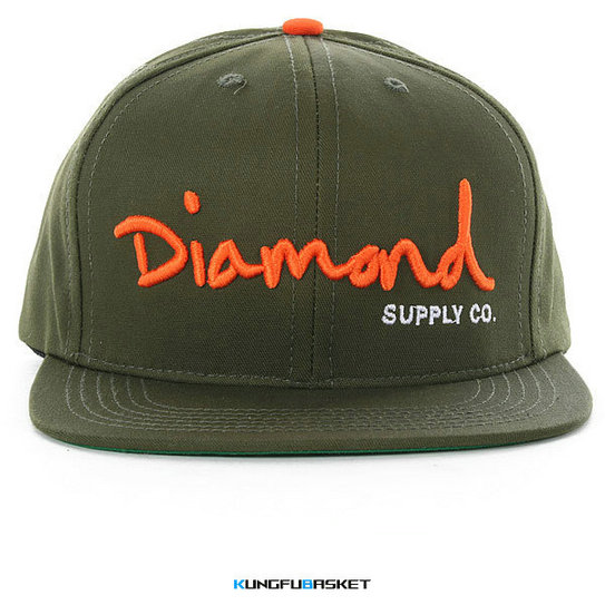 Kungfubasket 0853 - Casquette DIAMONDS CO. [Ref. 14]
