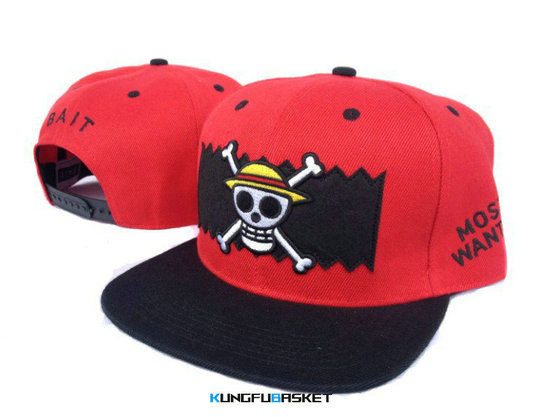 Kungfubasket 0865 - Casquette BAIT Most Wanted [Rouge]