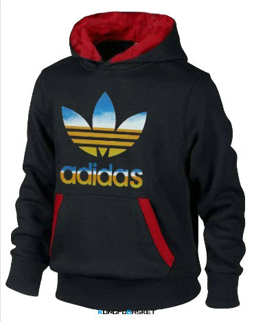 Kungfubasket 1167 - SWEAT SHIRT CAPUCHE ADIDAS