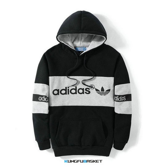 Kungfubasket 1173 - SWEAT SHIRT CAPUCHE ADIDAS