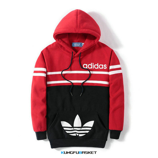 Kungfubasket 1174 - SWEAT SHIRT CAPUCHE ADIDAS