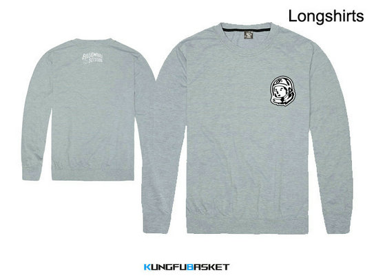 Kungfubasket 1191 - BBC Long Shirt Grey