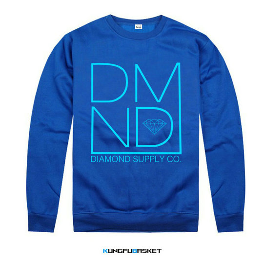 Kungfubasket 1217 - Sweatshirt Diamond Supply Co - Blue