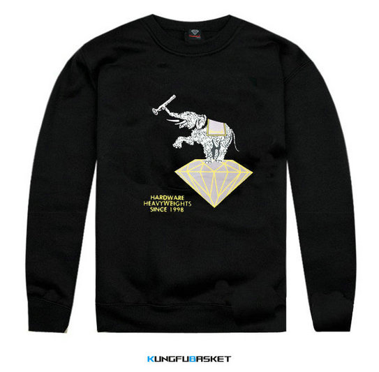 Kungfubasket 1218 - Sweatshirt Diamond Supply Co - Elephant
