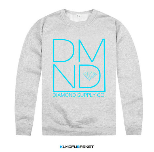Kungfubasket 1219 - Sweatshirt Diamond Supply Co - Grey