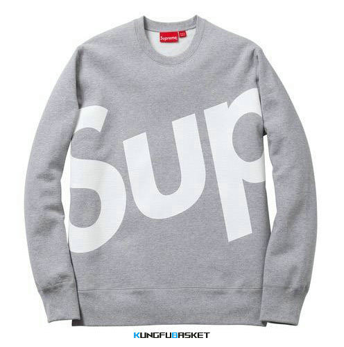 Kungfubasket 1343 - Sweatshirt Supreme - Grey
