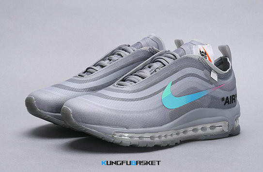 Kungfubasket 2571 - Air Max 97 Off-Blanc Metal