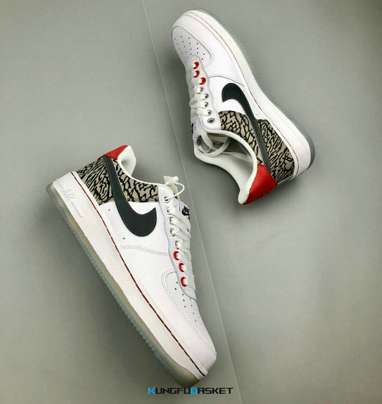 Kungfubasket 3236 - Air Force 1 Low 'Print'