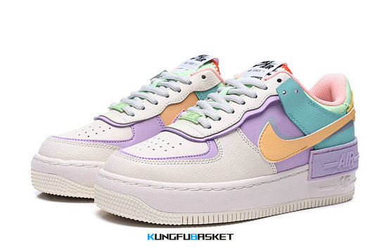 Kungfubasket 3238 - Air Force 1 Low 'Shadow Pale Ivory'