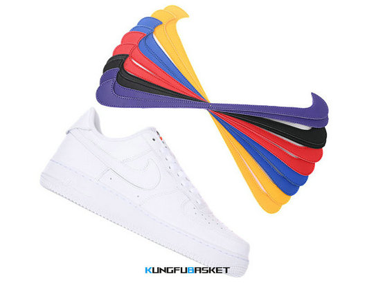Kungfubasket 3239 - Air Force 1 Low ''Swoosh Pack'