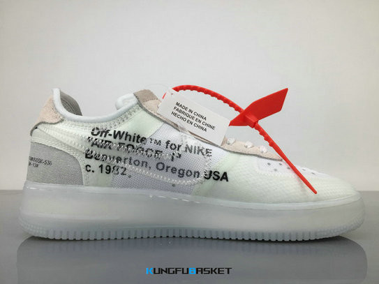 Kungfubasket 3289 - Virgil Abloh x Nike Air Force 1