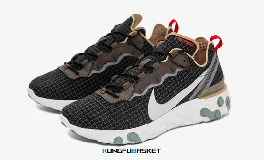 Kungfubasket 3469 - Nike React Element 55 [M. 1]