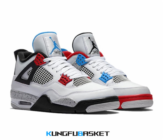 Air Jordan 4 'What The' Des baskets pas cher