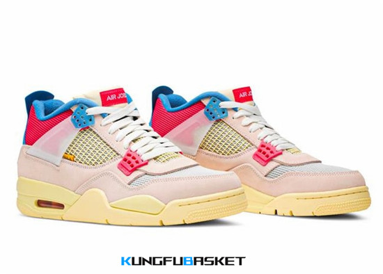 "Union LA x Air Jordan 4 ""Guava Ice"" Des baskets pas cher"