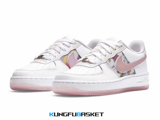 Air Force 1 Low '07 LV8 'White Pink Floral' Des baskets pas cher