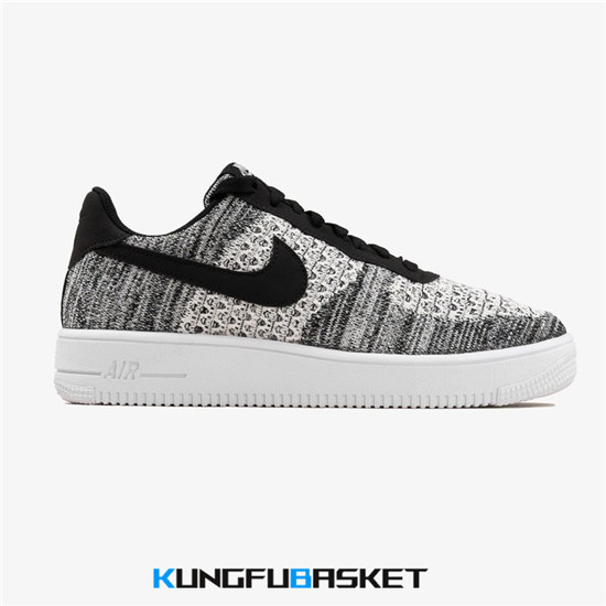 Air Force 1 Flyknit 2.0 'Black/White' Des baskets pas cher
