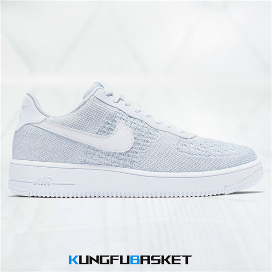 Air Force 1 Flyknit 2.0 'White' Des baskets pas cher