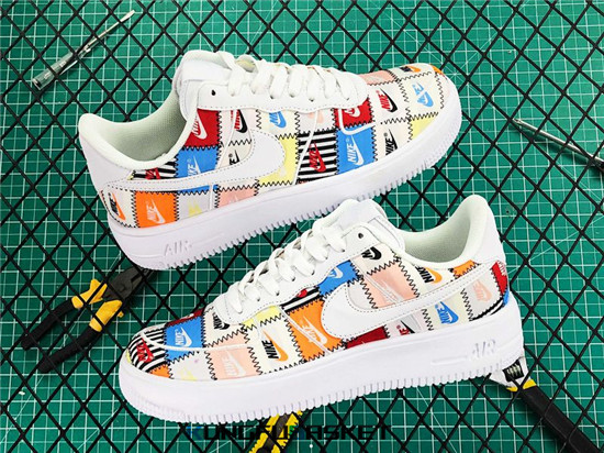 "Air Force 1 Flyknit 2.0 ""Patchwork"" Des baskets pas cher"