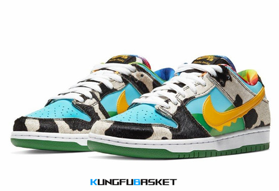 Ben & Jerry x Nike SB Dunk Low Chunky Dunky Des baskets pas cher
