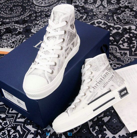 Kungfubasket DIOR High-Top Sneakers [M. 6] fr205042
