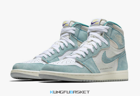 Kungfubasket - Air Jordan 1 High OG 'Turbo Green'